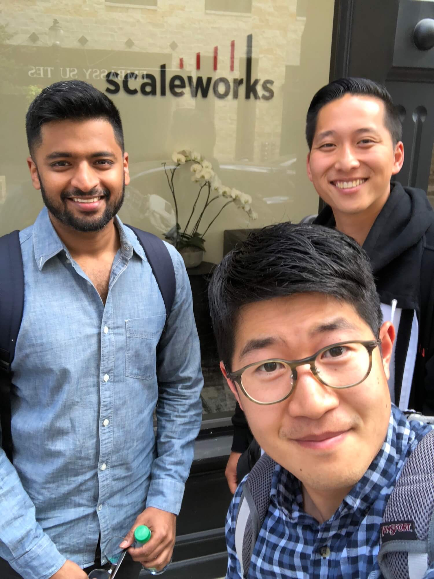 Cofounders at Scaleworks